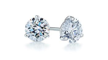 Kwiat 0.25ct tw Diamond Platinum Stud Earrings