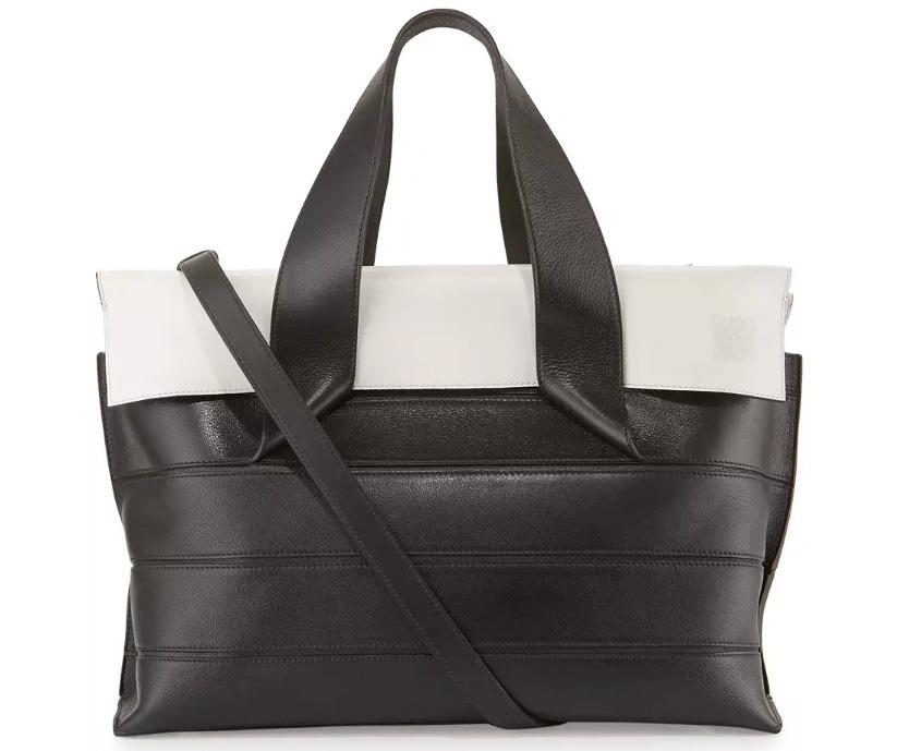 Loewe-Strip-Shoulder-Bag