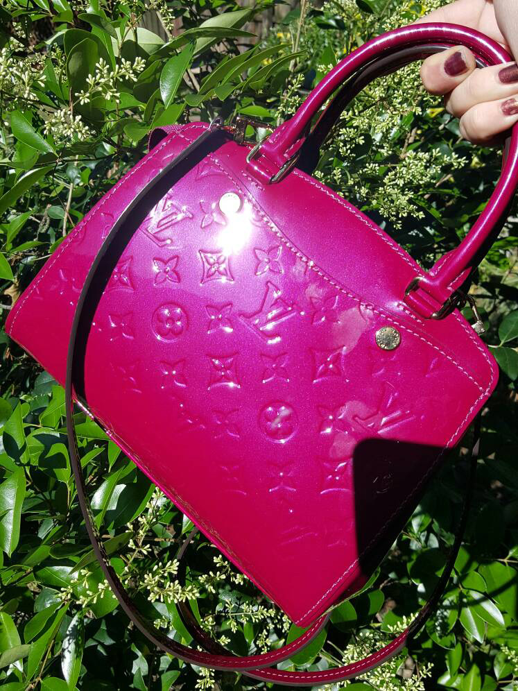 Louis-Vuitton-Vernis-Pink-Tote