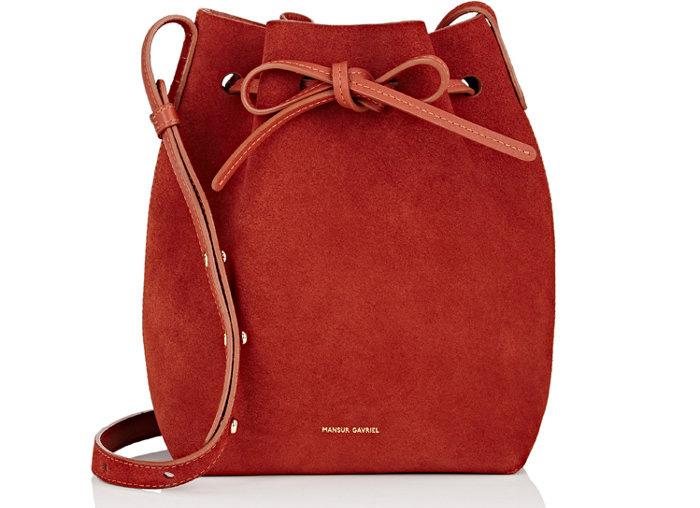 Mansur-Gavriel-Suede-Mini-Bucket-Bag