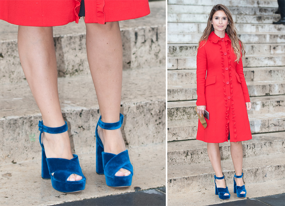 Best Motorcycle Jacket >> The Best Celebrity Shoe Choices of Paris Couture Week Fall 2016 - PurseBlog