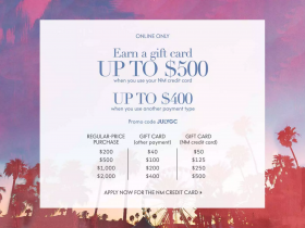 Neiman Marcus Gift Card Event July 2016