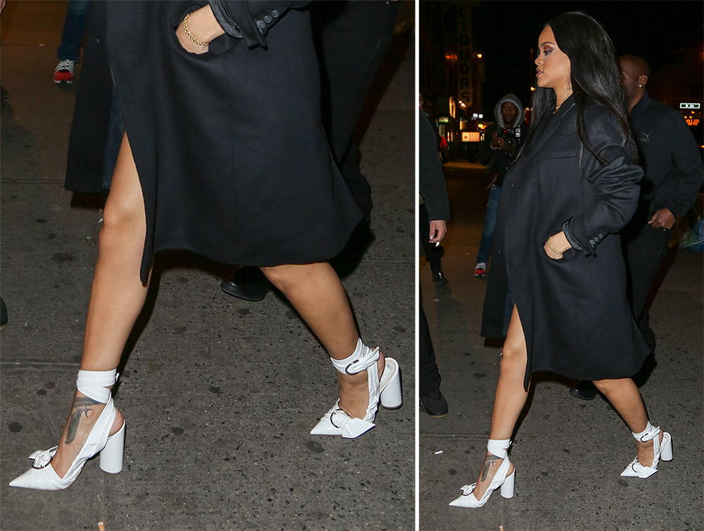 Rihanna-Dior-Wrap-Pumps