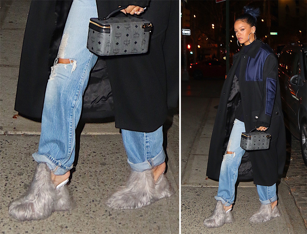 new style 953ed 3b575 Rihanna Loves Wild Shoes and We Love Her For It - PurseBlog