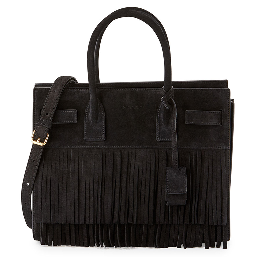 Saint-Laurent-Baby-Sac-de-Jour-Fringe-Bag