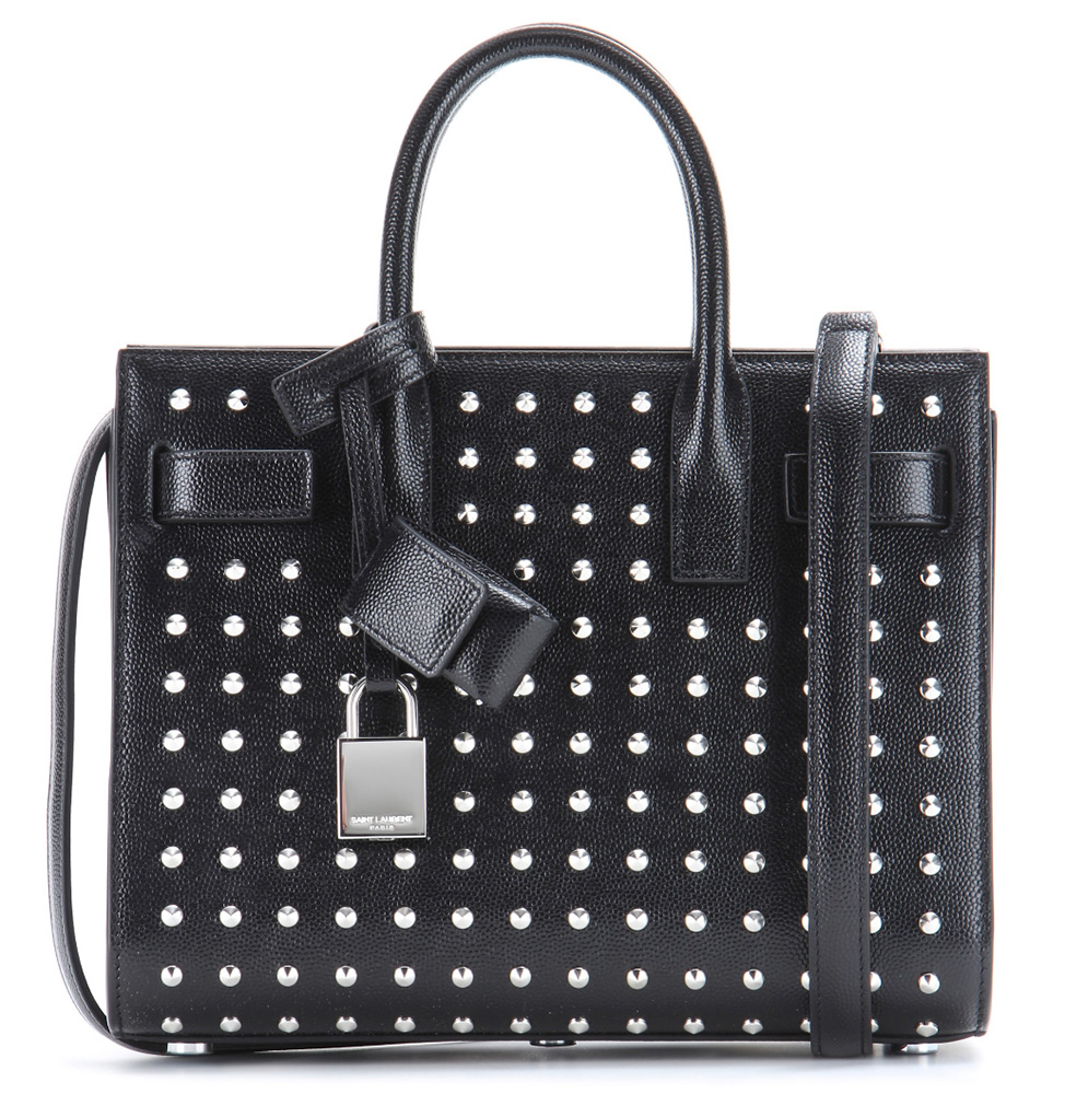 Saint-Laurent-Sac-de-Jour-Studded-Bag