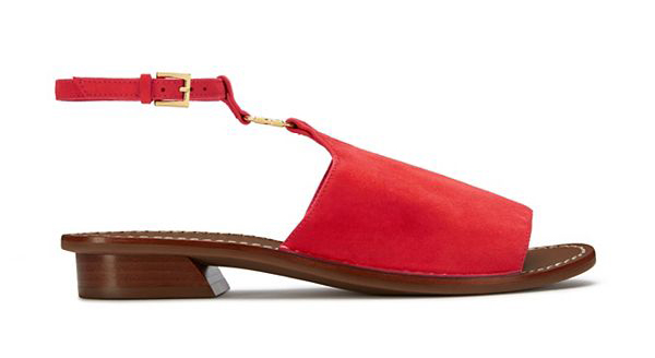 Tory Burch Gemini Link Ankle-Strap Sandal