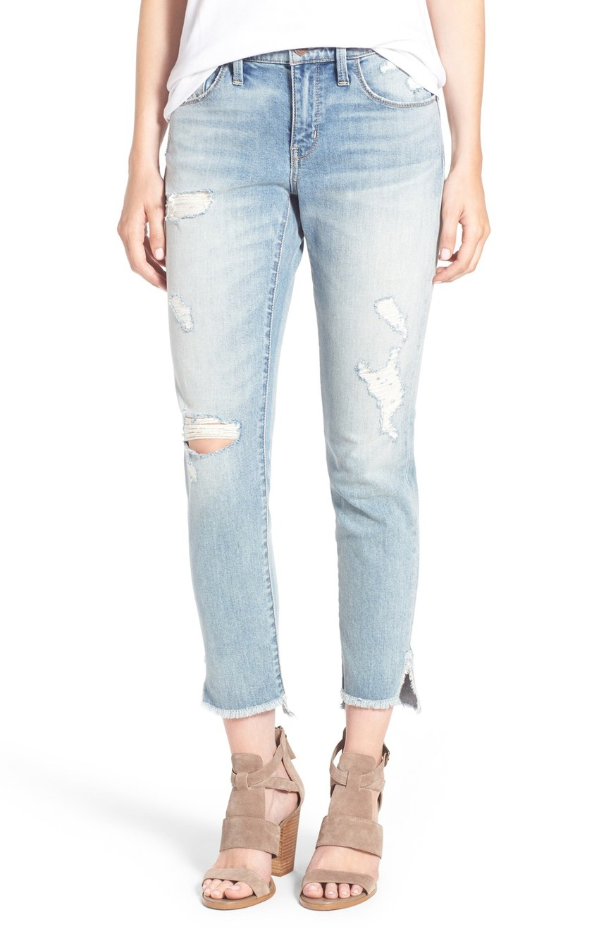 Treasure and Bond Ankle Boyfriend Skinny Jeans
