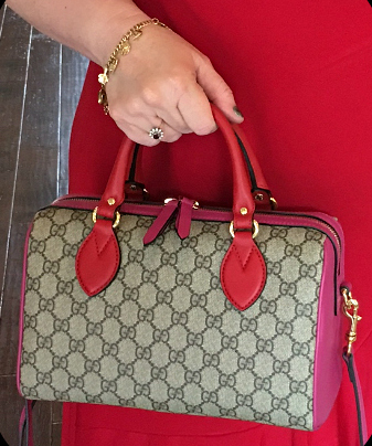 tPF Member: Trudysmom Bag: Gucci GG Supreme Top Handle Bag Shop: $1,390 via Gucci