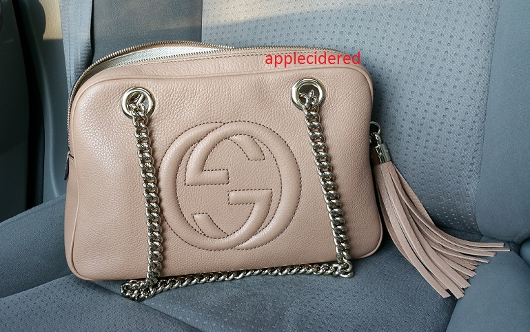653230dd9ea4dc tPF Member: Applecidered Bag: Gucci Soho Leather Chain Shoulder Bag Shop:  Similar styles