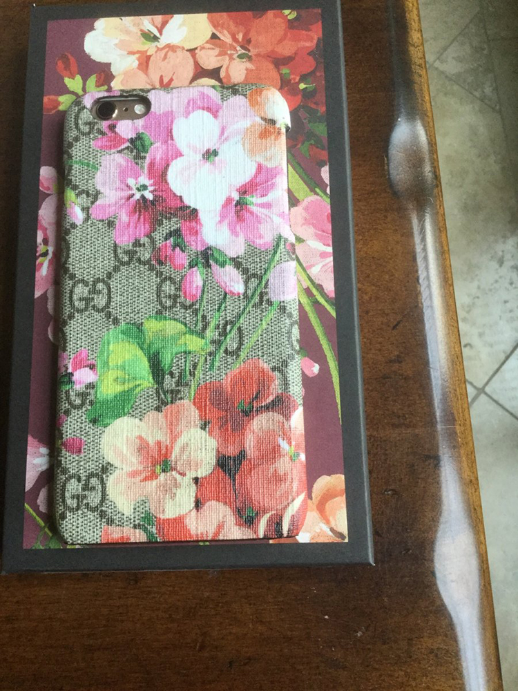 tPF Member: Krawford Phone Case: Gucci GG Blooms iPhone 6 Case  Shop: $260 via Gucci