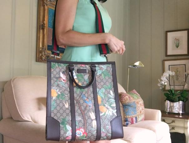 tPF Member: Thatsportsgirl Bag: Gucci Tian GG Supreme Tote Shop: $1,850 via Gucci
