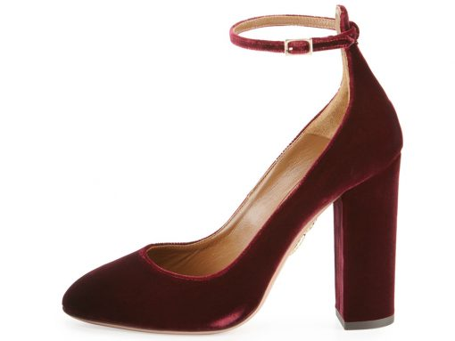 It's Not Just Bags: Velvet Shoes Are Fall 2016's Biggest Footwear Trend