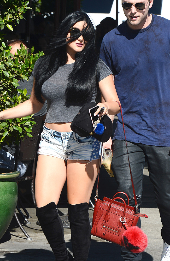 Ariel-Winter-Celine-Nano-Luggage-Tote-Fendi-Bag-Bug