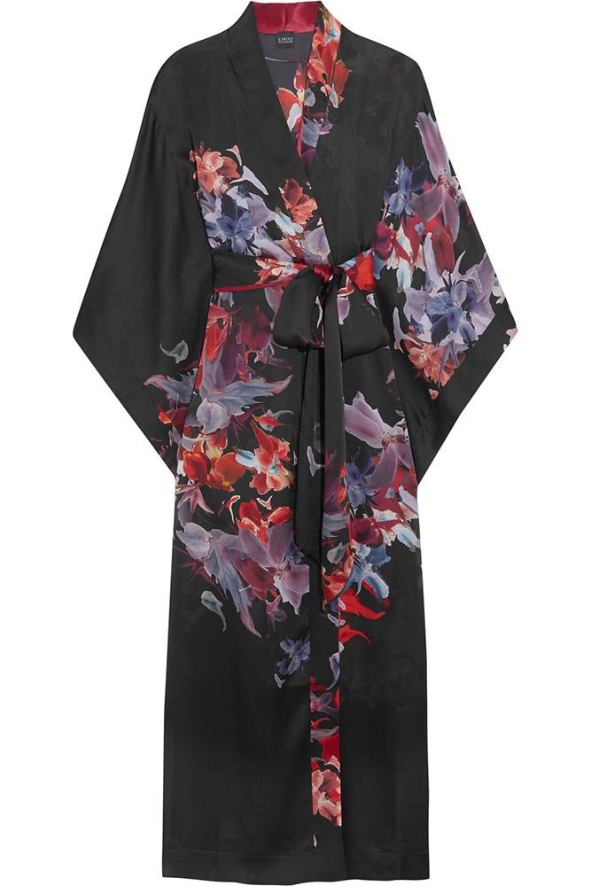 Carine-Gilson-Floral-Silk-Satin-Kimono