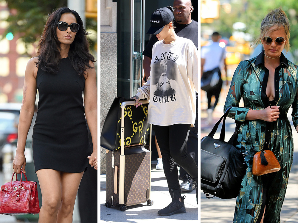 Celebs Step Out With Bags From Chlo 233 Versace Stella