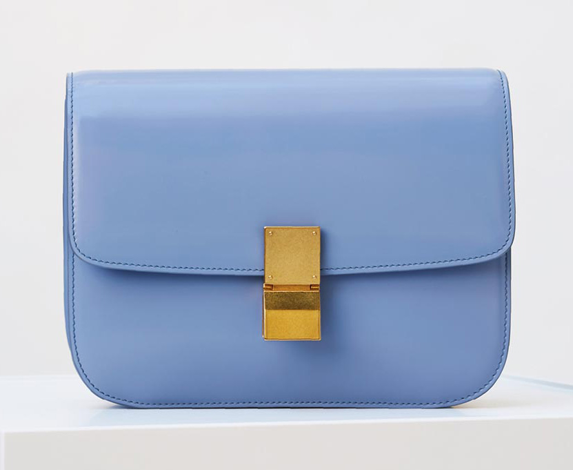 Celine-Classic-Box-Bag-Blue-Gold-3900