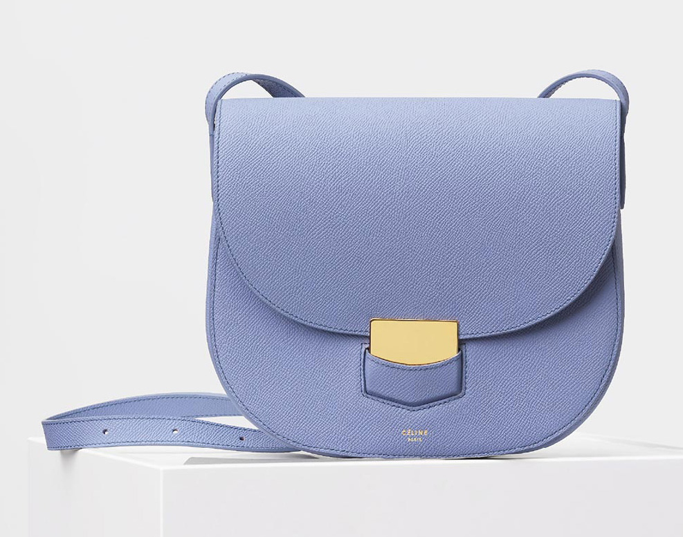 Celine-Compact-Trotteur-Shoulder-Bag-Blue-2200