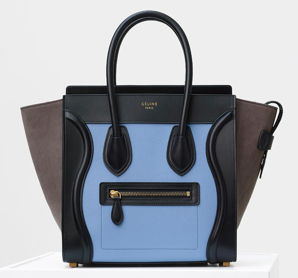Celine-Micro-Luggage-Tote-Blue-3350