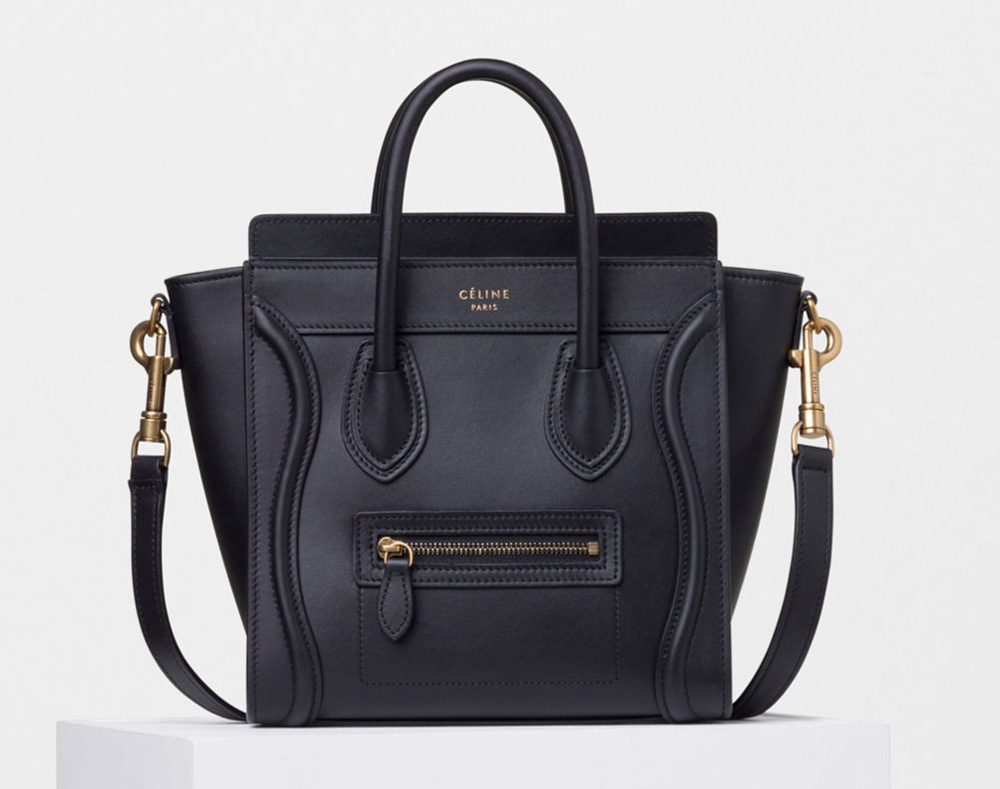Celine-Nano-Luggage-Tote-Black-2700