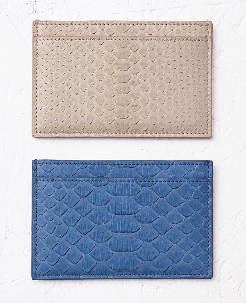 Celine-Python-Card-Holders
