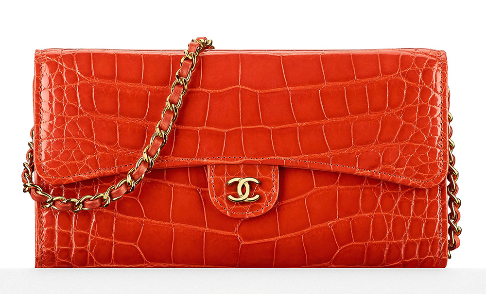 Chanel-Alligator-Wallet-with-Chain