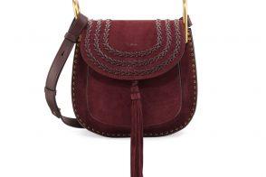 Chloe Hudson Small Suede Shoulder Bag