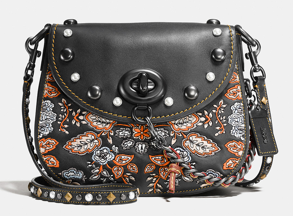 Coach-1941-Embellished-Forest-Flower-Turnlock-Saddle-Bag-23