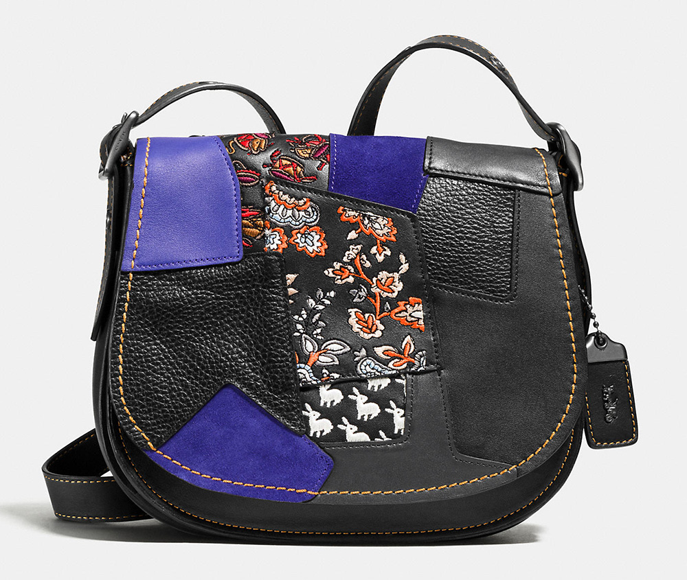 Coach-Embellished-Patchwork-Saddle-Bag-23
