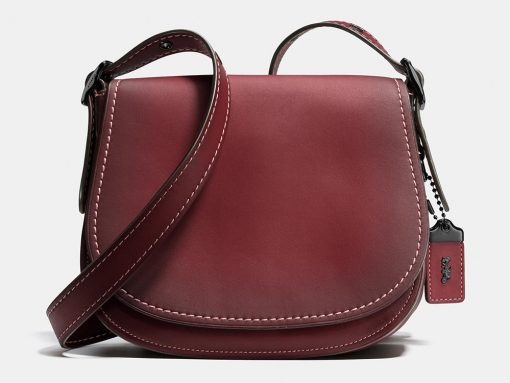 Coach-Saddle-Bag