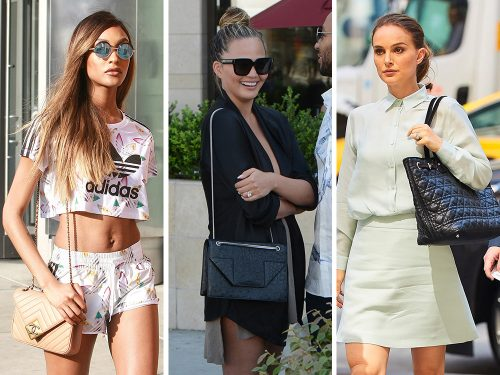 Celebs are Eternally Out and About with Sleek Bags from Fendi, Saint Laurent and Proenza Schouler