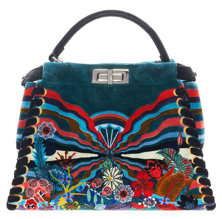 Fendi-Velvet-Peekaboo-Bag