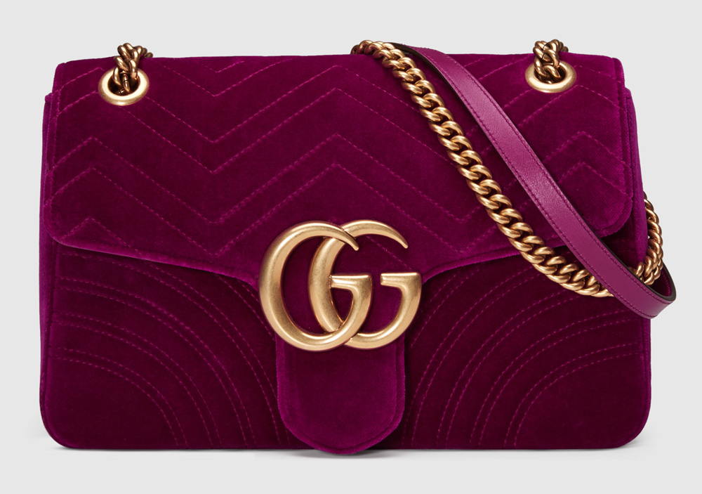 Gucci-Marmont-Velvet-Shoulder-Bag