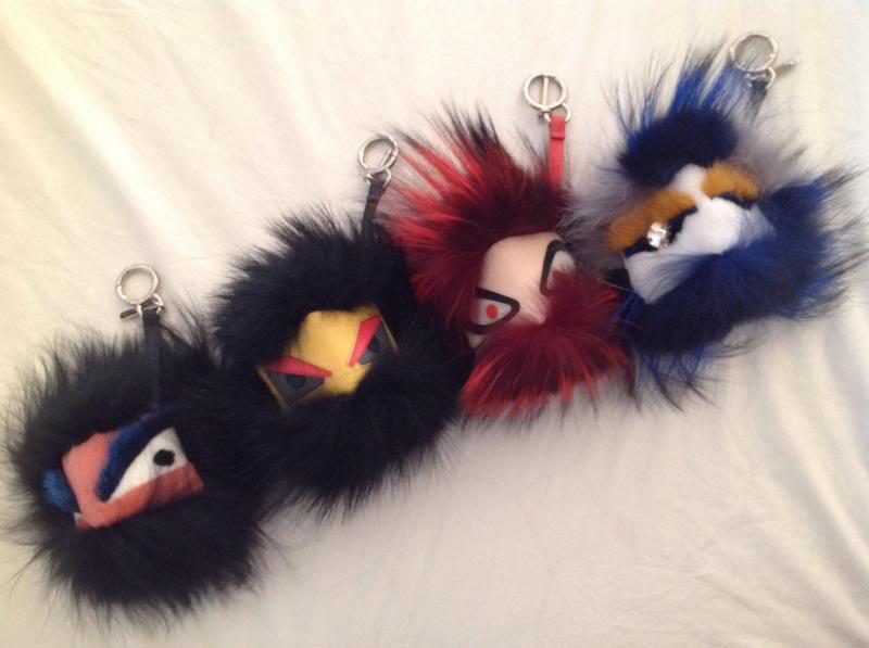 One Big Furry Family  Fendi s Bag Bugs Are A Bonafide Hit On Our ... 4a1563a30f98e