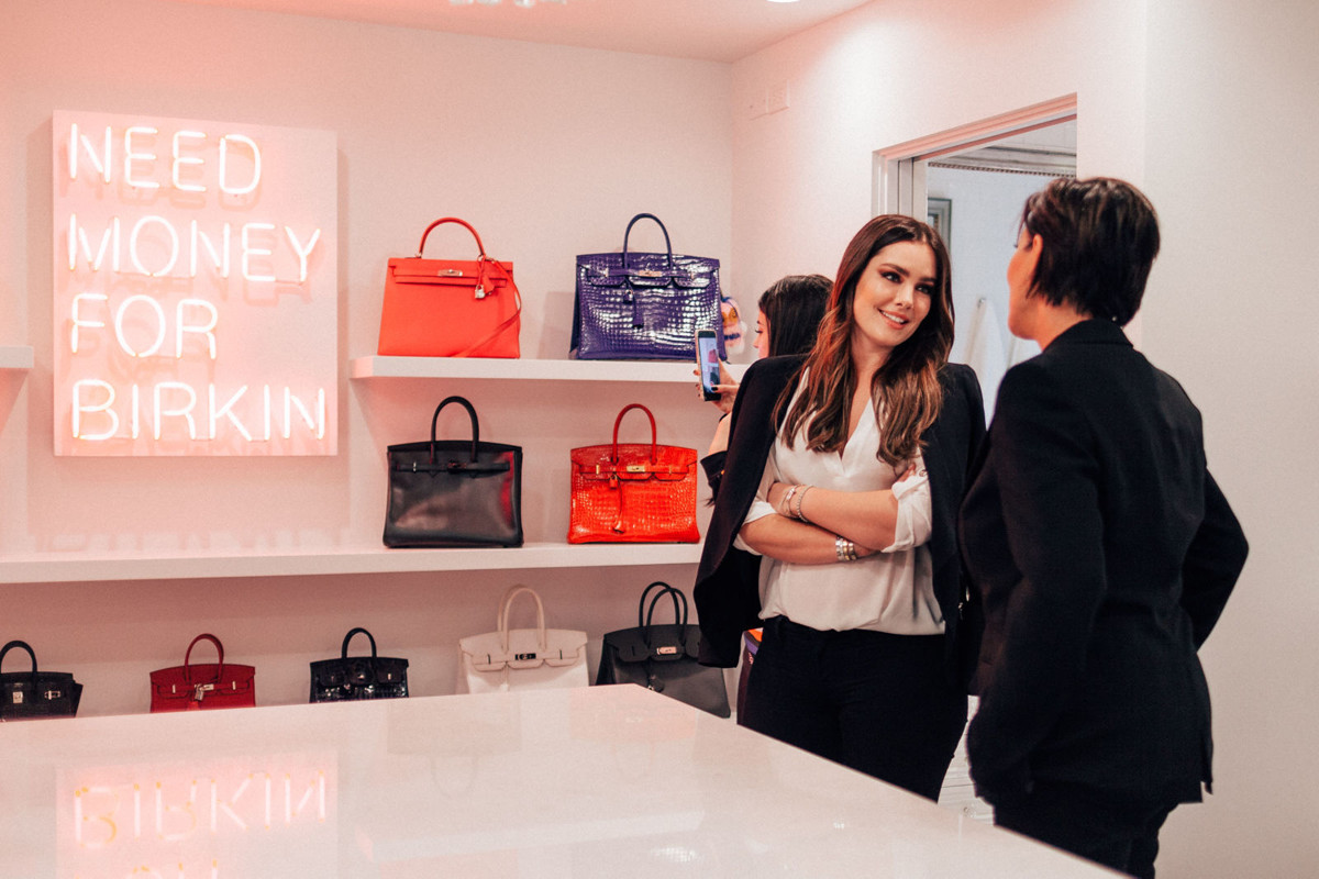 e2aaaacdee3 Kris Jenner Has A Closet Just for Her Hermès Collection - PurseBlog
