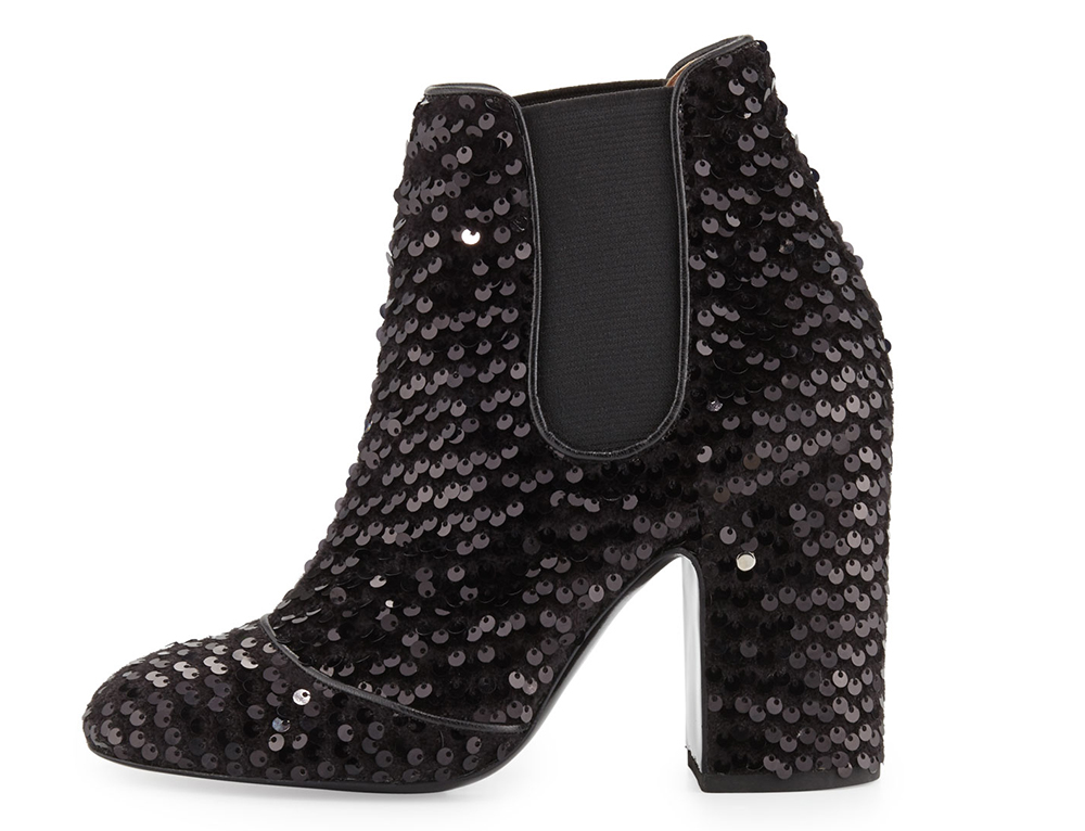 Laurence Dacade Mila Sequined 100mm Chelsea Boot