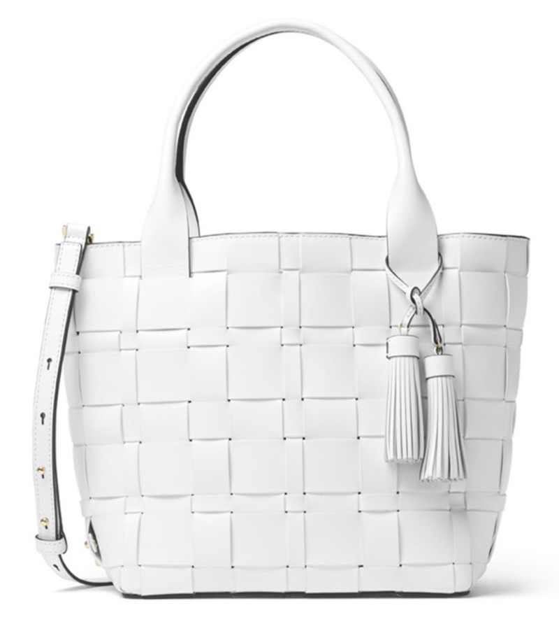 MICHAEL-Michael-Kors-Woven-Leather-Tote
