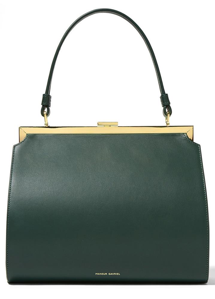 Mansur-Gavriel-Elegant-Bag-Green