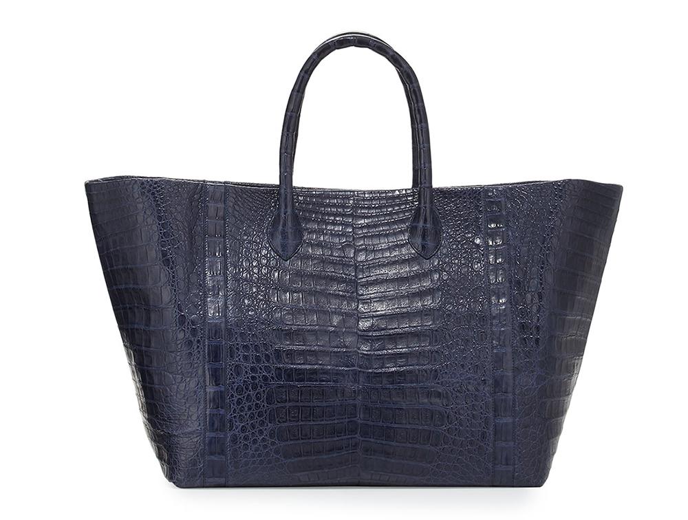 Nancy Gonzalez Custom Crocodile Large Convertible Tote Bag