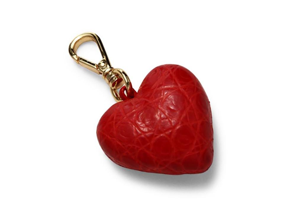 Nancy Gonzalez Heart Crocodile Charm