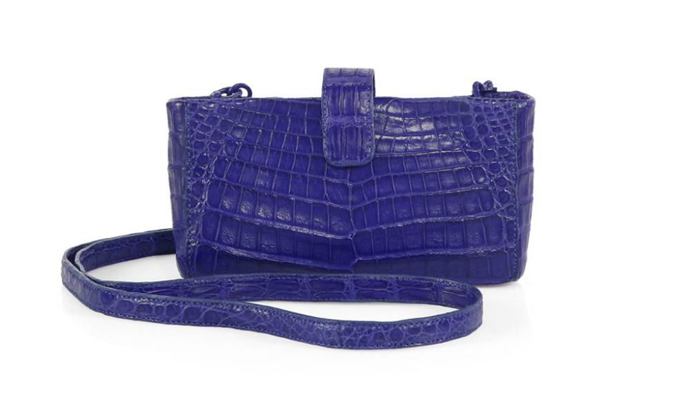 Nancy Gonzalez Mini Crocodile Crossbody Bag