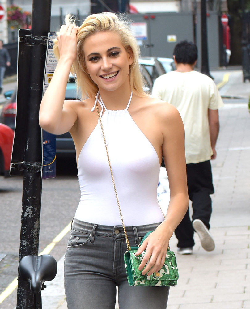 Pixie-Lott-Dolce-and-Gabbana-iPhone-Bag