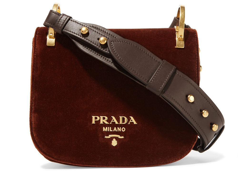 Prada-Pionniere-Velvet-Shoulder-Bag