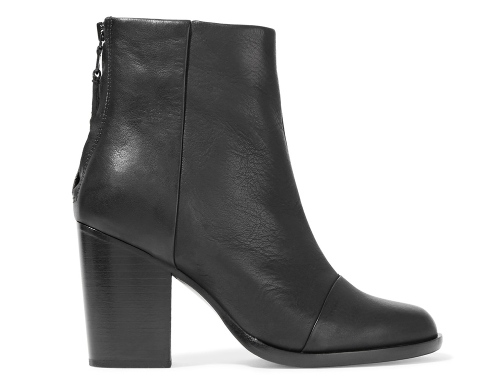 Rag and Bone Ashby Leather Ankle Boots