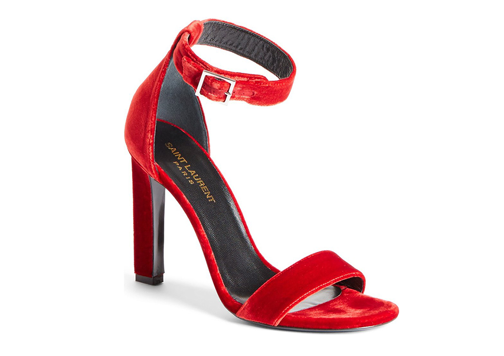 Saint Laurent Grace Ankle Strap Sandal