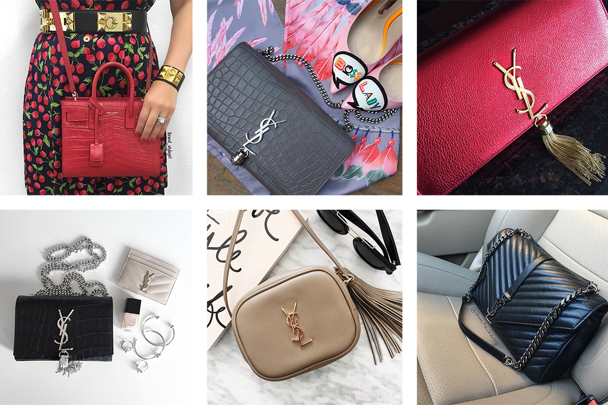 a37f1a2df95 Saint Laurent Bags Steal the Spotlight in This Week's Instagram Roundup -  PurseBlog