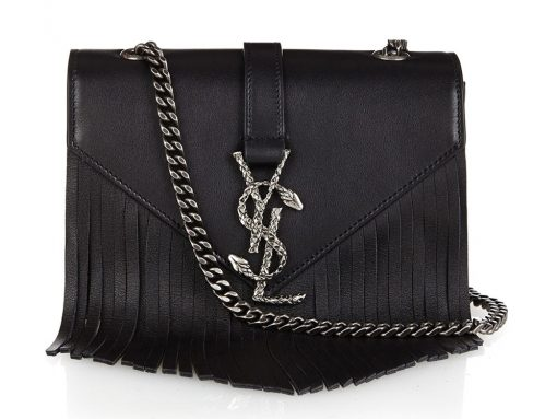 Saint-Laurent-Monogramme-Fringe-Bag