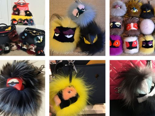 One Big Furry Family: Fendi's Bag Bugs Are A Bonafide Hit On Our PurseForum
