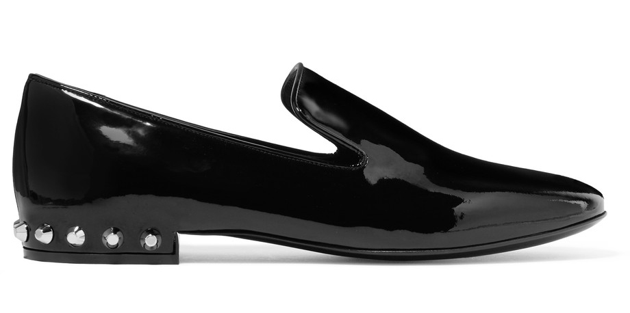 balenciaga-studded-patent-leather-loafers