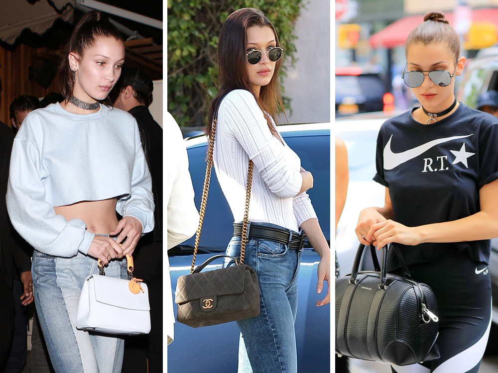 The Many Bags of Bella Hadid - PurseBlog b79d6235b32d1